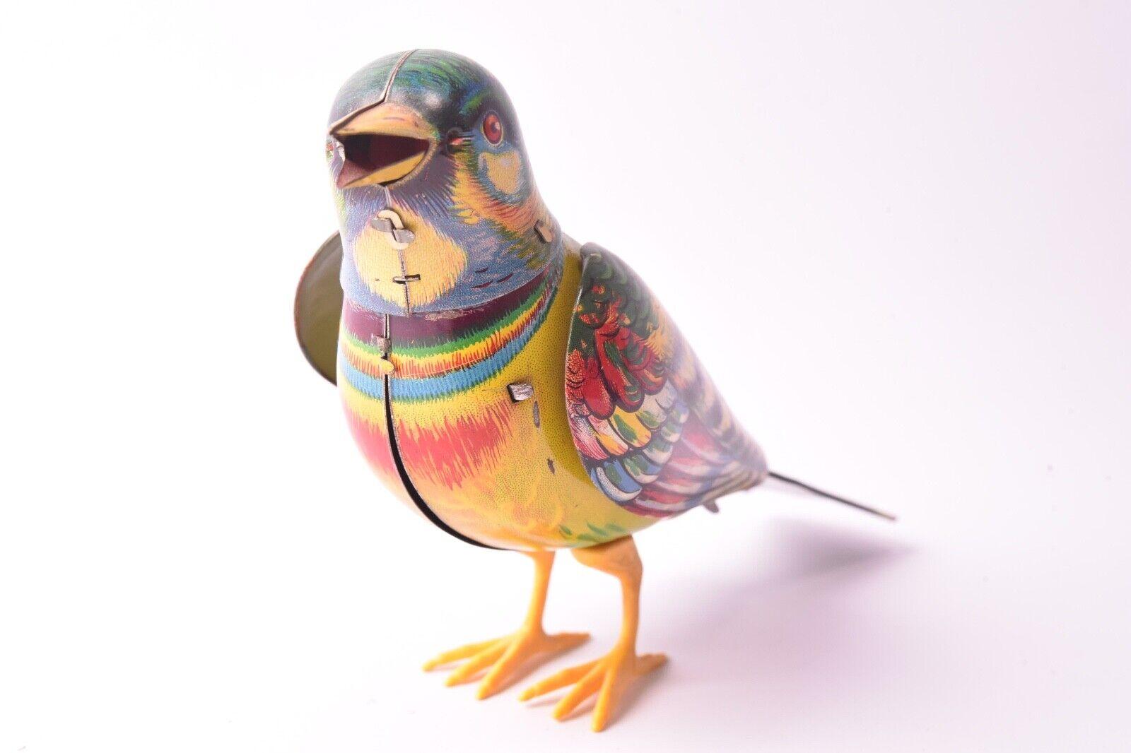 Giocattolo Ancien. Uccello Kölher Germania, verso 1960, Latta Litografata