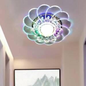Classic-modern-Crystal-Crystal-LED-Light-Colorful-LED-Light-Lamp-Porch-Lighting