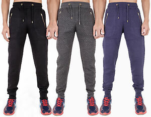 Details about New Mens Sweatpants Quilted Joggers Jogging Skinny Slim Fit  Stretch Cuffed 45665161cc88
