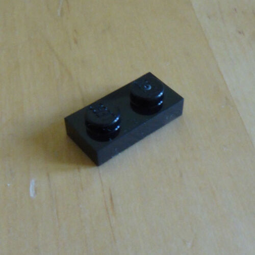 NEW pack of 20 Lego 3023-1x2 plate in black city star wars friends