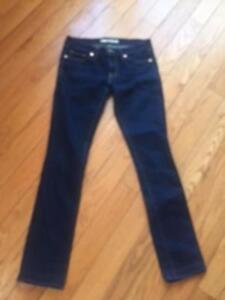 27 di usati Jeans Pantaloni Brand a Jeans contrasto scuro jeans a J contrasto blu Euc Sz AxBZfFq