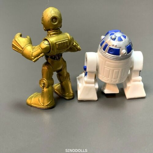 R2D2 /& C3PO Droid Playskool Star Wars Galactic Heroes 2.5/'/' Action Figures Toys