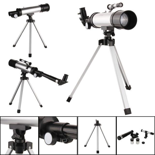 360x50 Astronomical Telescope Tube Refractor Monocular Spotting Scope+Tripod Set
