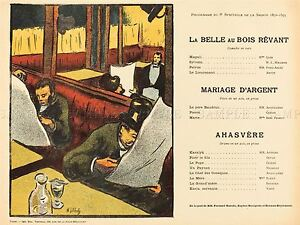 IBELS-FRENCH-SLEEP-DREAM-PROGRAMME-OLD-ART-PAINTING-POSTER-PRINT-BB5720A
