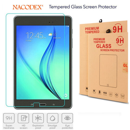 Nacodex Tempered Glass Screen Protector For Samsung Galaxy Tab E T560 9.7 Inch