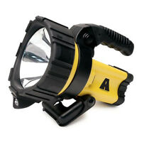 Roadpro 2 Million Candle Power Rechargeable Spotlight With Path Light Yellow
