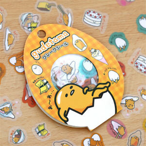 Lots-50pcs-Gudetama-Lazy-Egg-Stickers-Kawaii-Cartoon-Scrapbooking-Label-Decal