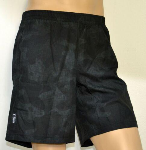 adidas Herren Shorts AK Q1 Schwarz Laufen Climalite Trainieren Fitness AI3308
