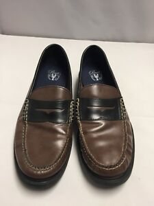 a78eafbf6ca335 Cole Haan Pinch Maine Classic Men s Size 11 Brown Leather Slip On ...