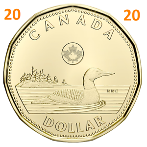 2020-New-Canada-1-One-Dollar-Coin-Common-Loonie-Uncirculated-2020