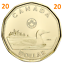 2020-New-Canada-1-One-Dollar-Coin-Common-Loonie-Uncirculated-2020 thumbnail 1