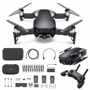 52905377ab4 DJI Mavic Air Fly More Combo Camera Drone - Onyx Black 4K 32MP ...