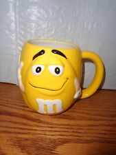 2002 Yellow - M&M - Collectible XL Coffee Mug