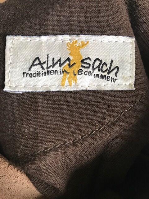 Almsach Lederhose Damen Yanka hellbraun Gr 40 kurz Trachten NEU NEU NEU | Meistverkaufte weltweit  | Feinbearbeitung  | Online Outlet Shop  821d66