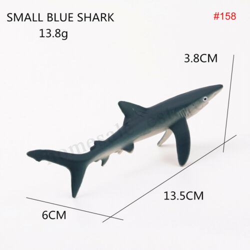 Great White Ocean Sealife Animals Whale Shark Model Kids Educational Gift Toy