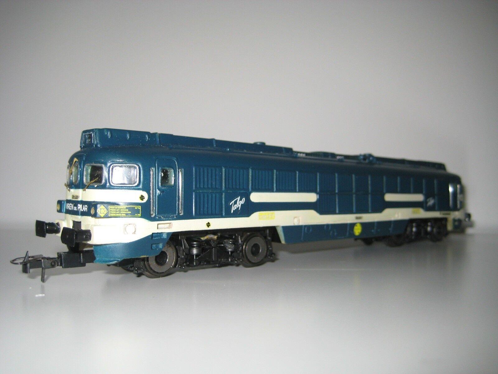 Roco H0 4000 (354) - Locomotora Diesel Talgo Pendular  Virgen del Pilar  Serie