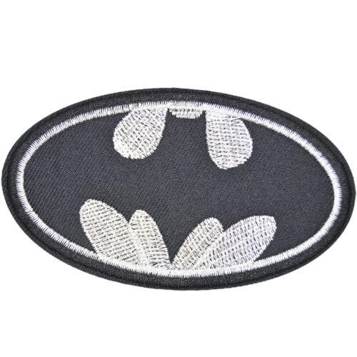 "Batman Logo DC Comics Embroidered Iron Sew On Patch Appliques 3.7/""X2.1/"""