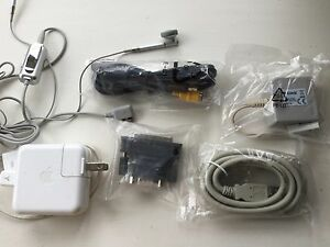 Apple-Adapter-LG-Headphones-and-Random-Leads-etc