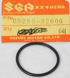 09280-32006 NOS Suzuki OEM intake pipe o-ring DR100 SP125 GN125 GS750 850 1000