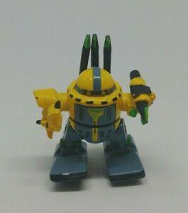 Vintage 1993 Z-bots Micro Machines Warmig Figure Galoob
