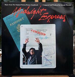 LP 33T. B.O.F Midnight Express - Giorgio Moroder - or fr 9128 018 PG 220 (VG/EX)