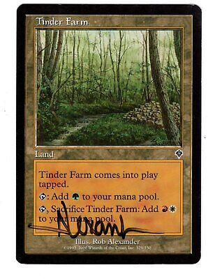 4x Tinder Farm MTG Invasion NM Magic Regular