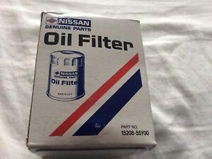 15208-55Y00 Genuine Nissan, NEW, 240sx, 300zx, oil Filter