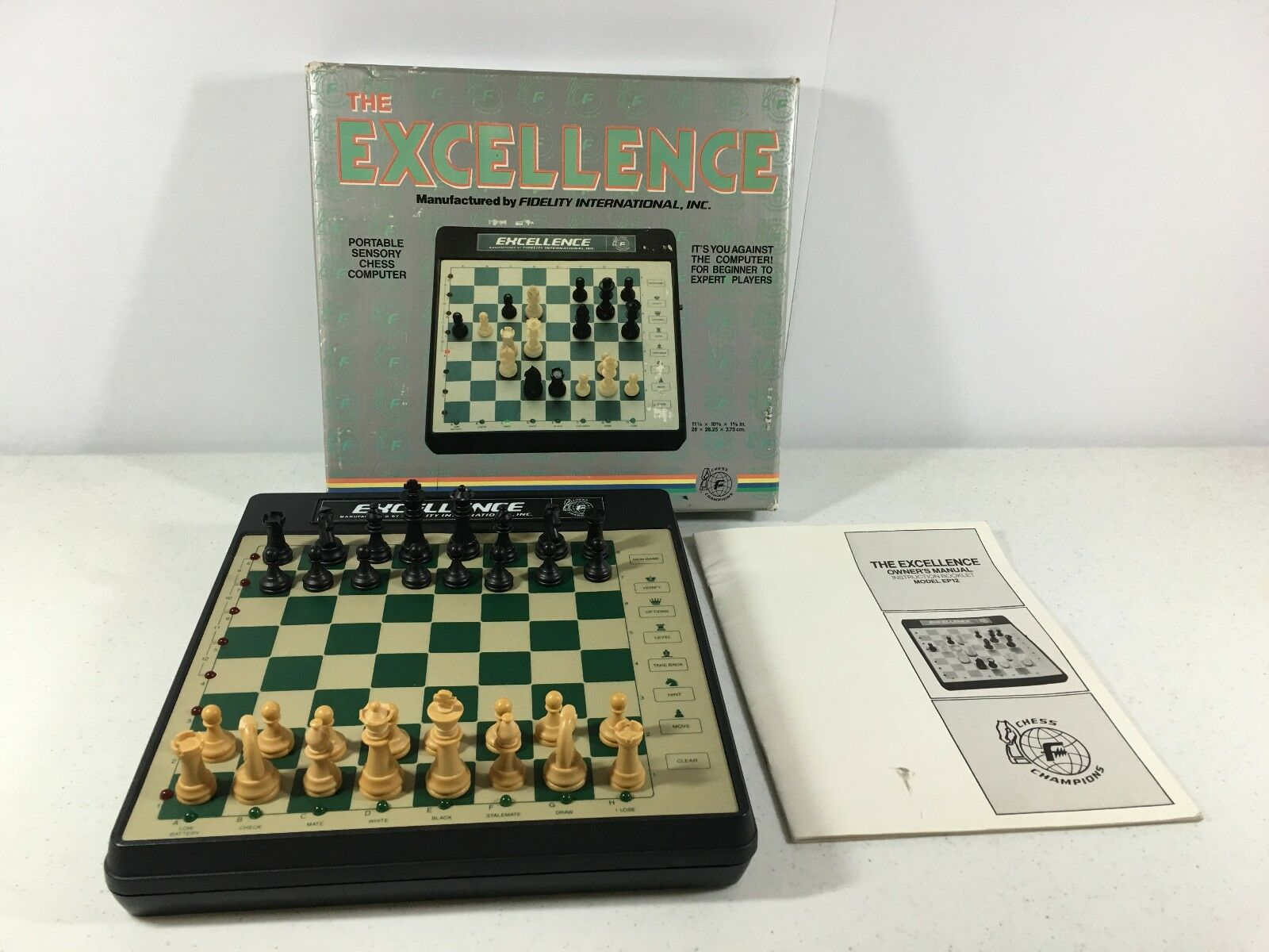 Excellence Chess Electronic Game Fidelity International Chess Champions