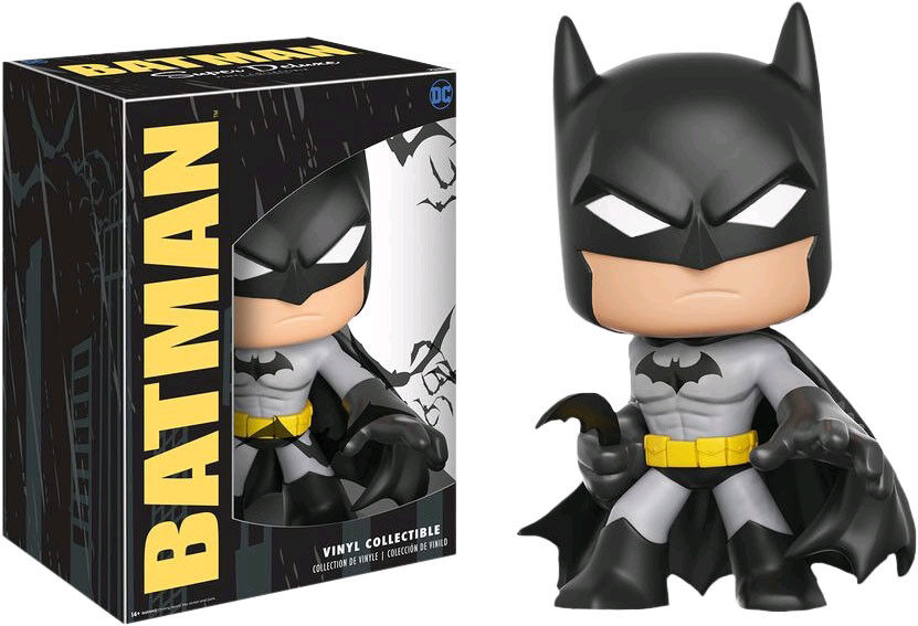 BATMAN - Batman 10  Super Deluxe Vinyl Figure (Funko)  NEW