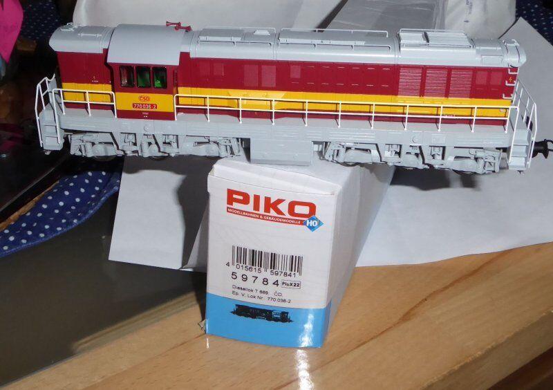 Piko 59784 diesellok Hummel t 669 t 770 CSD ep.4 6 nuevo en embalaje original, con DSS, PVP  140