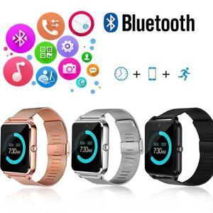 Fitness-Armband mit Pulsuhr Schrittzähler und Schlaftracker iOS & Android GPS
