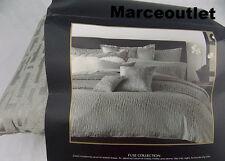 Donna Karan Home Fuse Collection KING Duvet Cover Silver