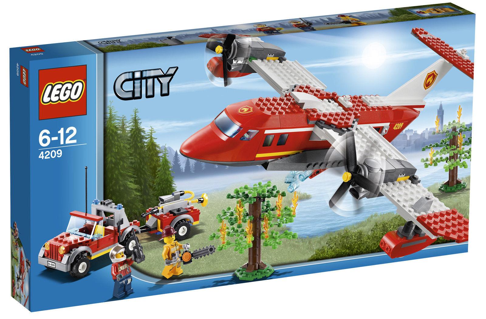LEGO CITY pompiers-löschflugzeug (4209) NEUF, neuf dans sa Boîte & Scellé