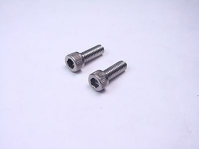 """Lot of 2 NAS1352N08-4 NAS Socket Head Cap Screw Allen Heat Resistant 8-32 1//4/"""""""