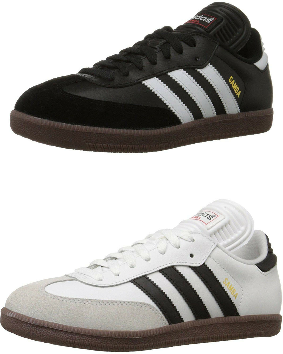 Adidas Performance Men's Samba Classic Indoor Soccer shoes, 2 colors