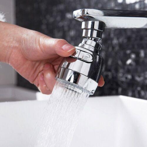 Wassersparende 360-Grad Drehen Wasserhahn Düse Filter Sprayer Tippen 2 Größe