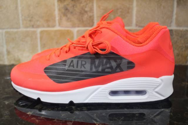 NIKE AIR MAX 90 NS GPX Uomo SIZE SIZE SIZE 9.5 BRIGHT CRIMSON COMFORTABLE LIGHTWEIGHT 6ae56e