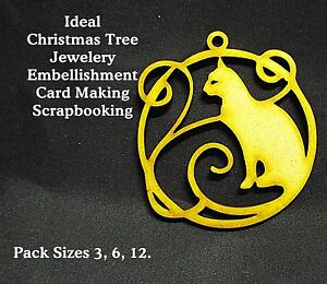 Artistic-CAT-Christmas-Tree-decor-Scrapbook-Card-Making-Box-Pack-Sizes-6-12-03a