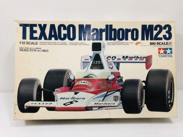 1//12 TAB12045 1975 Texaco Mclaren M23 Kompletter Bogen Aufkleber