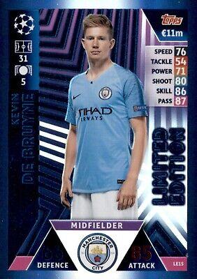 Match Attax Champions League 18//19 Edinson Cavani 100 club trading card #437