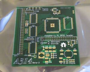 Details about Amiga 500 - A314 Raspberry Pi Co-Processor Accelerator PCB-  4-Layer ENIG Board
