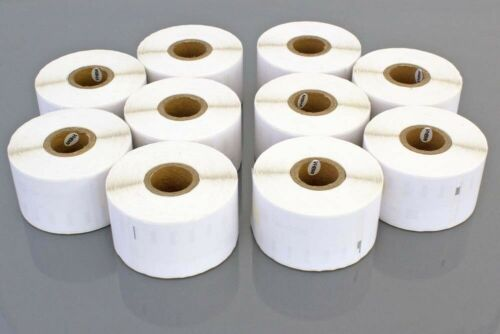 fuer DYMO Labelwriter 11356 10St Etiketten Rolle Etikett: 41x89mm|white