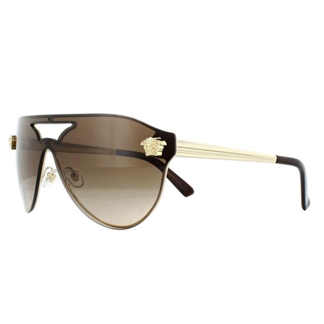 b195de46ae4 Versace Sunglasses Ve2161 125213 Pale Gold Brown Gradient for sale ...
