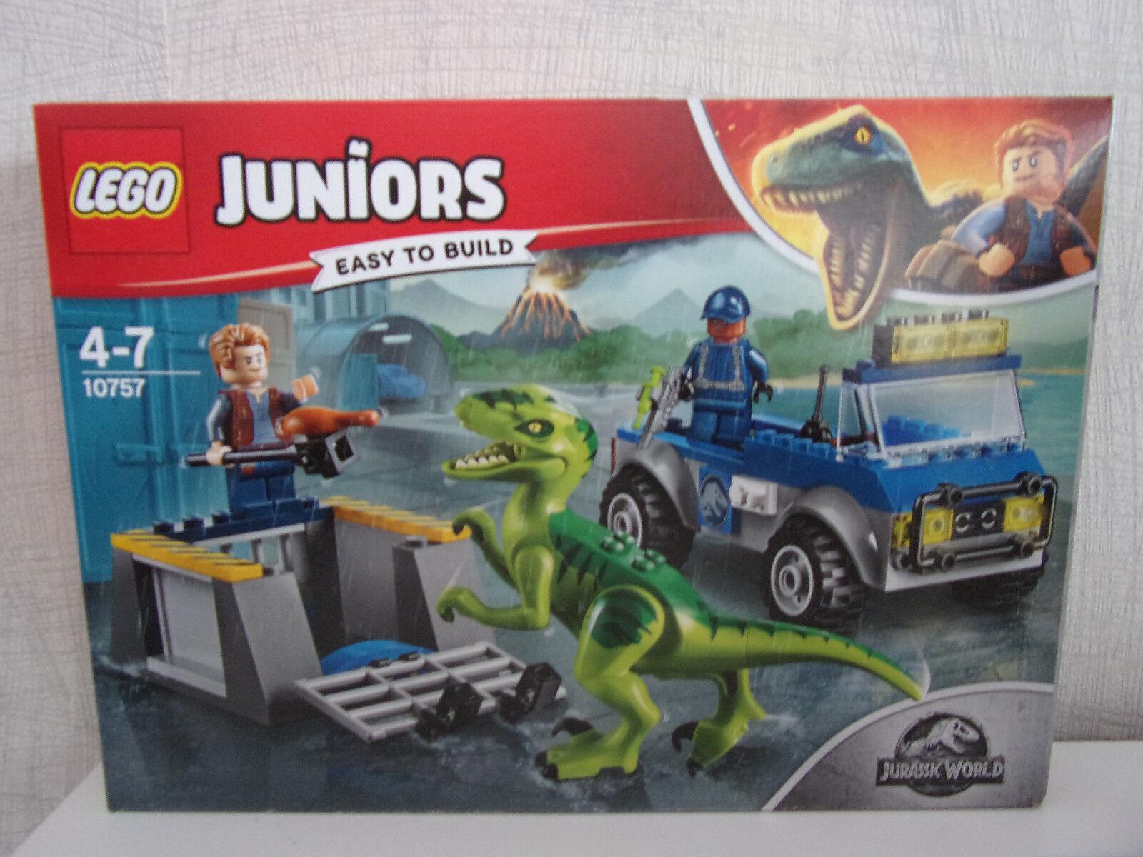 Lego Juniors (Jurassic World) 10757 Raptoren Rettungstransporter - NEU & OVP
