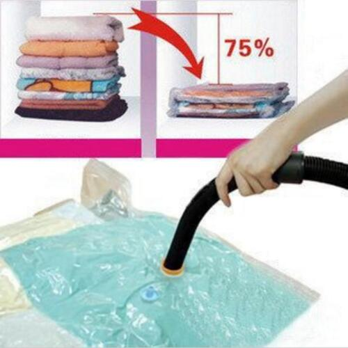 Useful Vacuum Seal Compressed Organizer Clothes Space Saving Household Storage