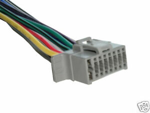 alpine cde 100 wiring harness 16 pin wire connector ebay rh ebay com Alpine Radio Cde 100 Manual