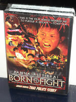 Born To Fight / Thai Police Story (dvd) Best Buy Retail Exclusive Brand