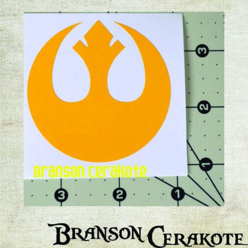 High Heat Vinyl Gun Firearm Rifle Cerakote Star Wars Rebel Alliance Stencil