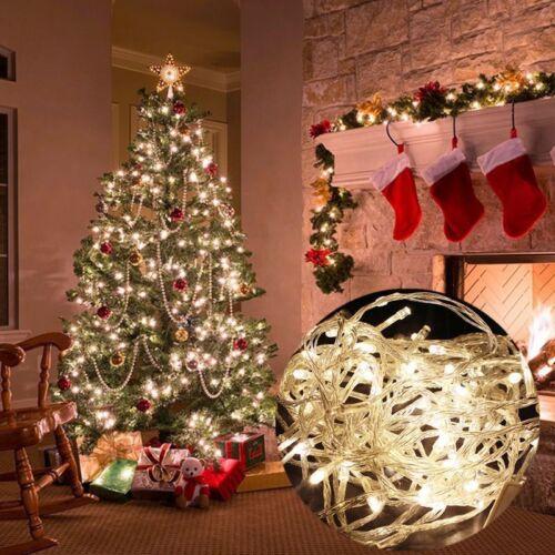 Fairy string Light Lamp 10//20M 200LED Christmas Wedding Xmas Party Decor Outdoor