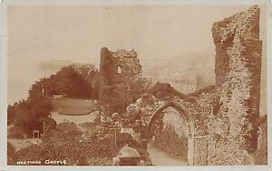 BR62103-hastings-castle-real-photo-uk